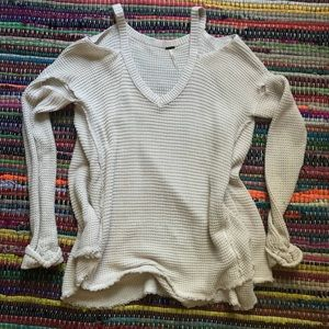 Free People Cable knit Tunic